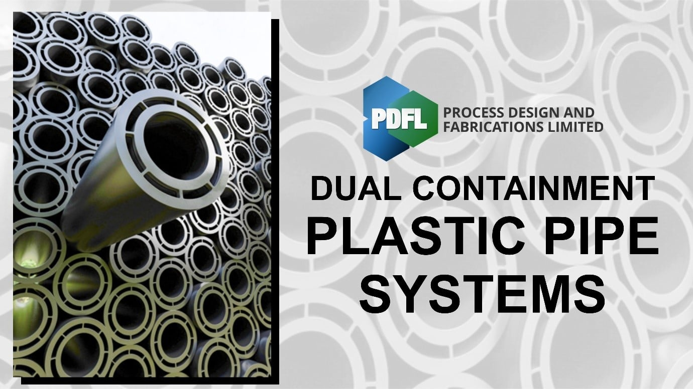 Dual Containment Plastic Pipe System