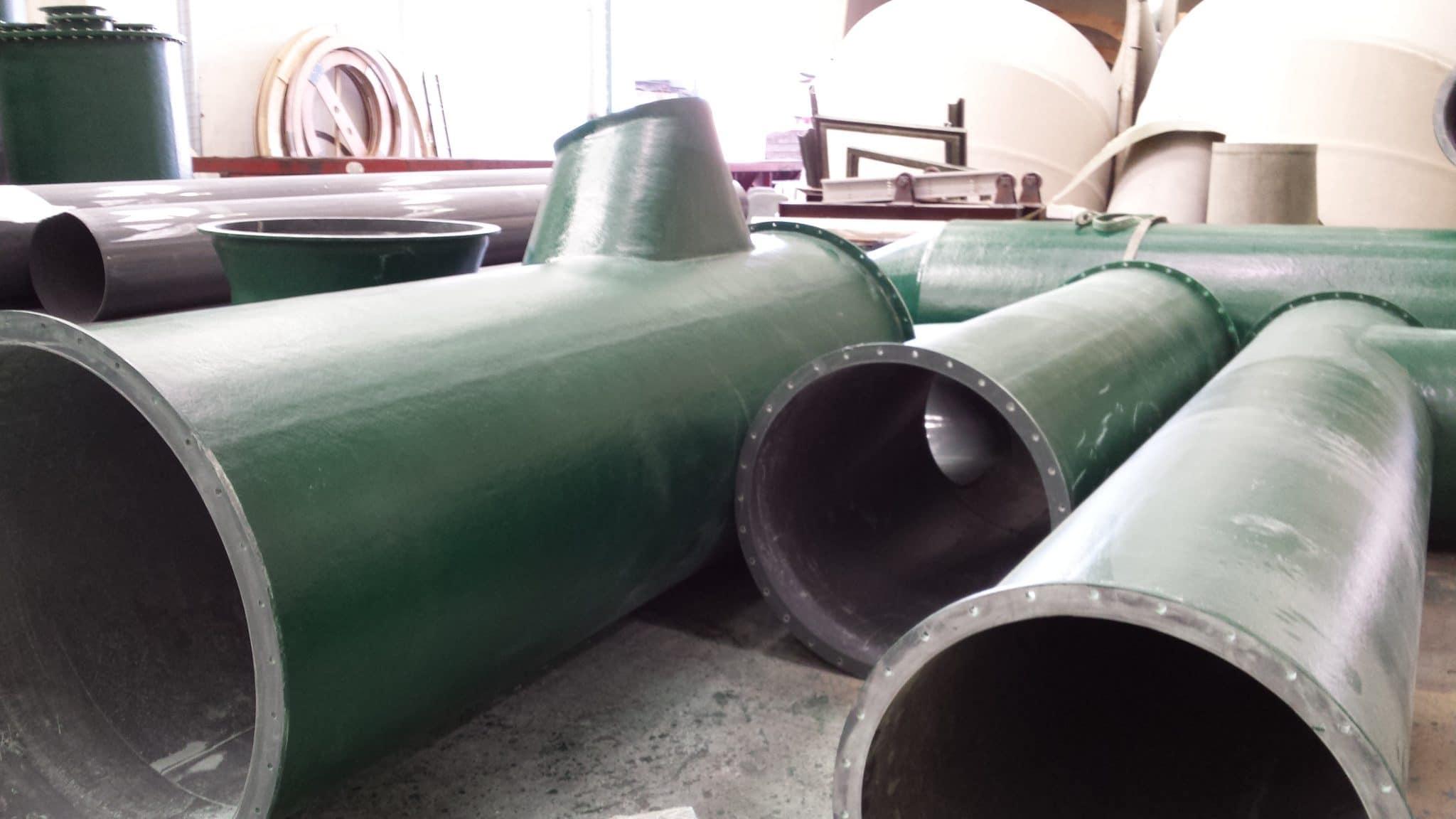 PVC GRP DUCTWORK